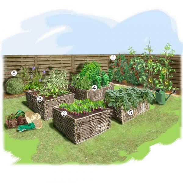 Aménager un carré potager dans son jardin